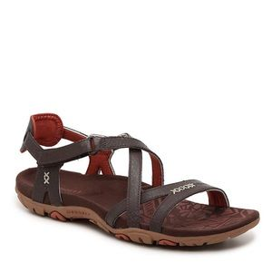 Merrell Dark Brown Sandspur Hiking Sandals Sz 10